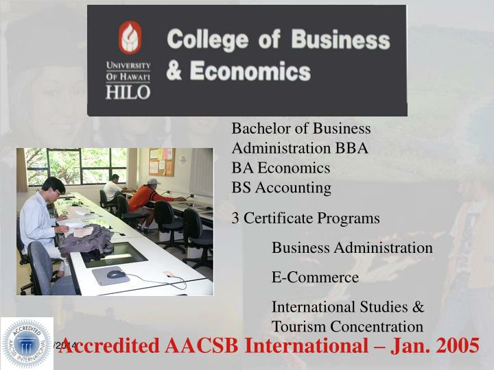 Bachelor of Business Administration BBA