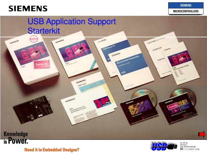 USB Application Support