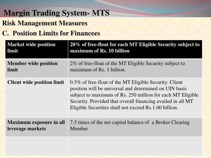 Margin Trading System- MTS