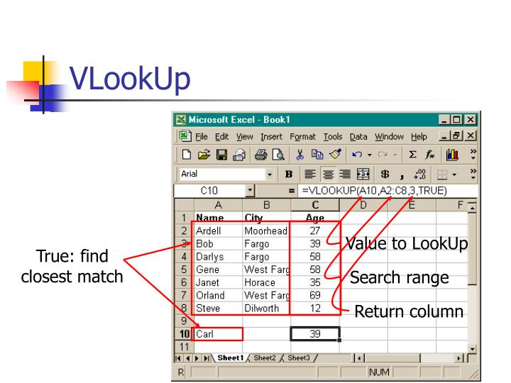 Value to LookUp
