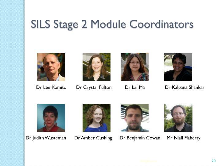 SILS Stage 2 Module Coordinators