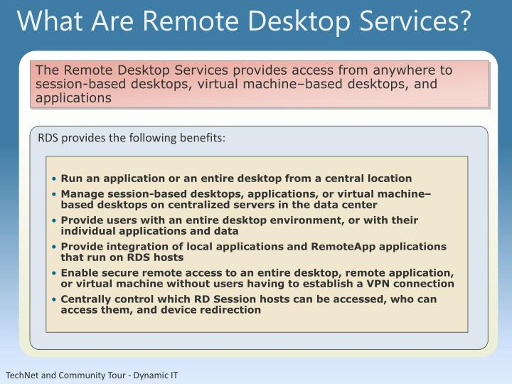 What Are Remote Desktop Services?