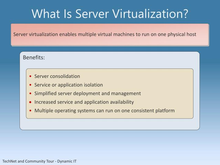 What Is Server Virtualization?