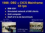 1988 db2 cics mainframe 65 tps