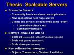thesis scaleable servers2