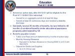 education post 9 11 gi bill