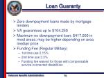 loan guaranty