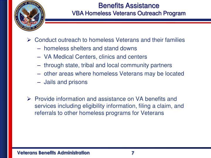 Benefits Assistance