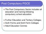 post compulsory pgce