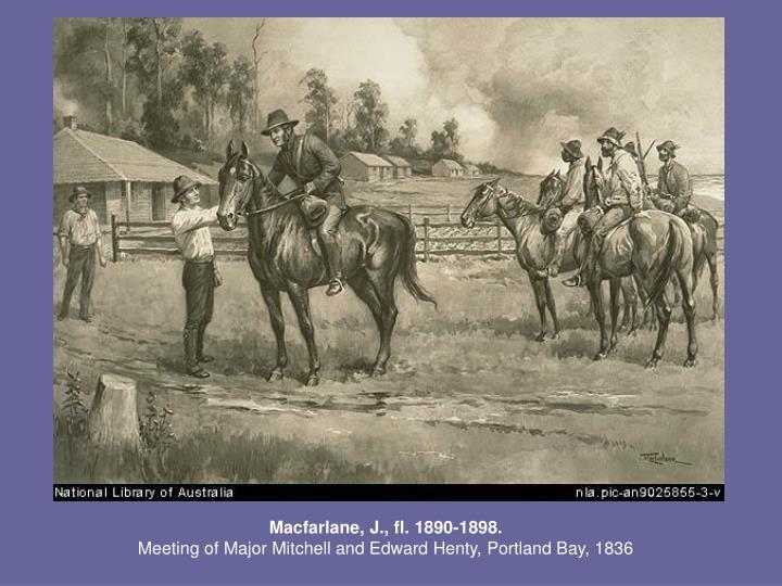 Macfarlane, J., fl. 1890-1898.