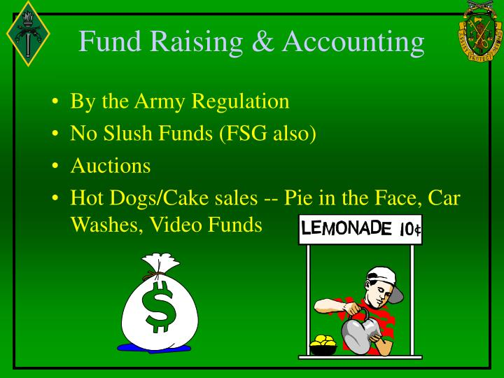Fund Raising & Accounting