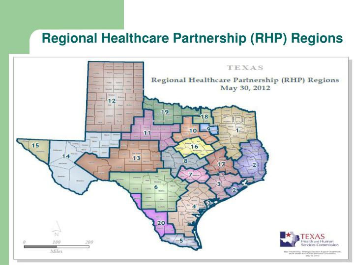 Regional Healthcare Partnership (RHP) Regions