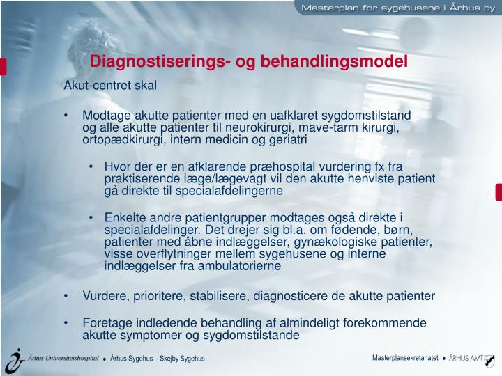 Diagnostiserings- og behandlingsmodel