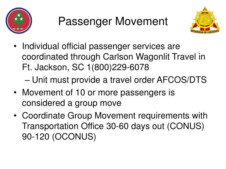 Passenger Movement