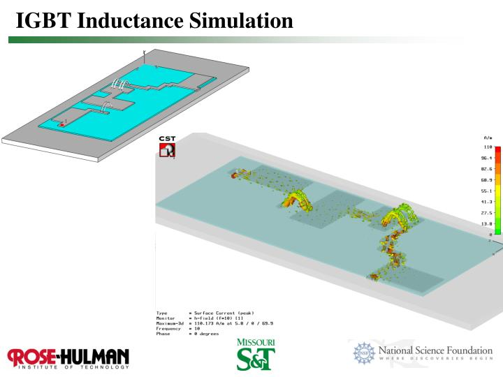 IGBT Inductance Simulation