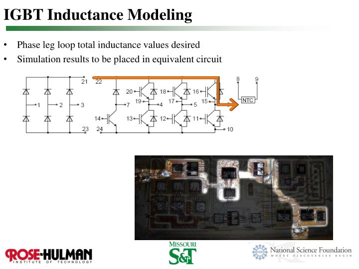 IGBT Inductance Modeling