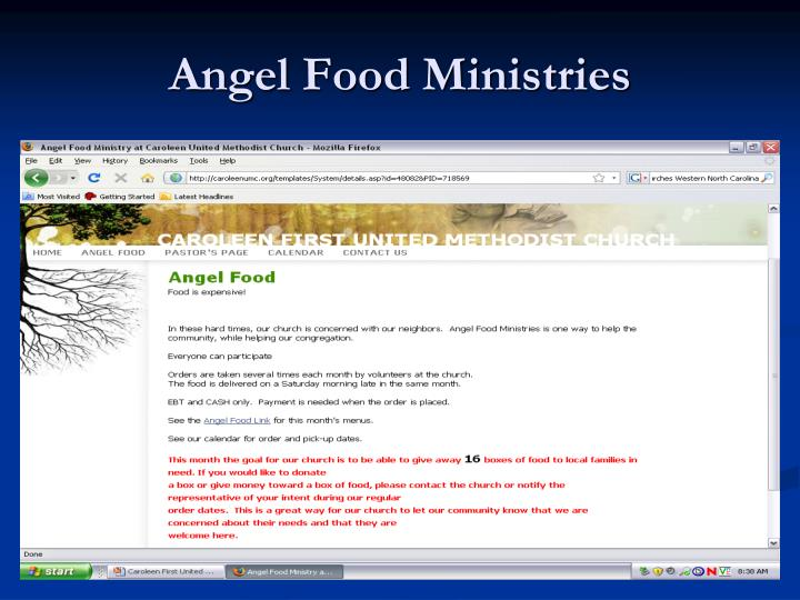 Angel Food Ministries