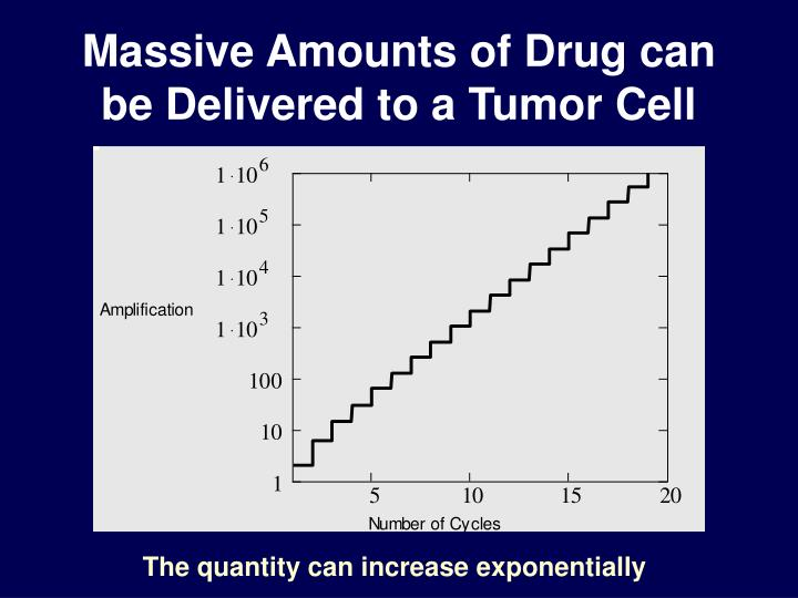 Massive Amounts of Drug can be Delivered to a Tumor Cell