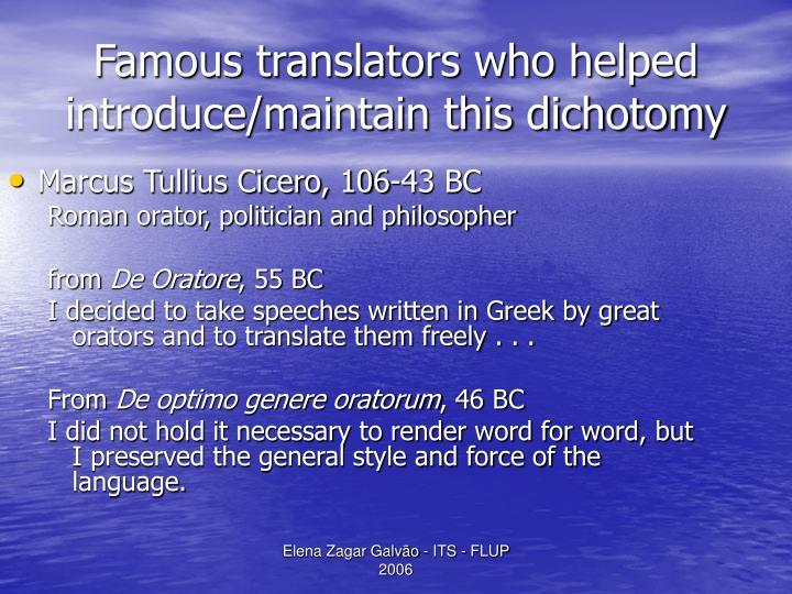 Marcus Tullius Cicero, 106-43 BC