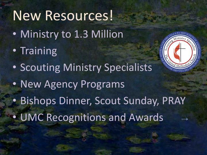 New Resources!