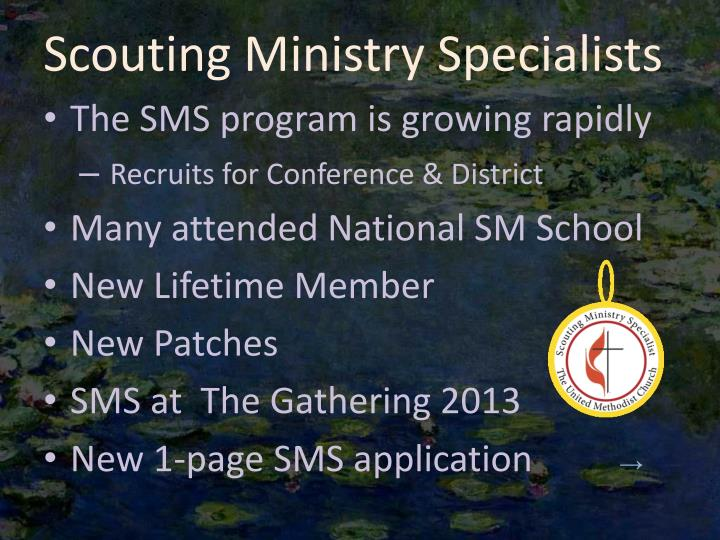 Scouting Ministry Specialists