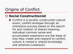 origins of conflict2