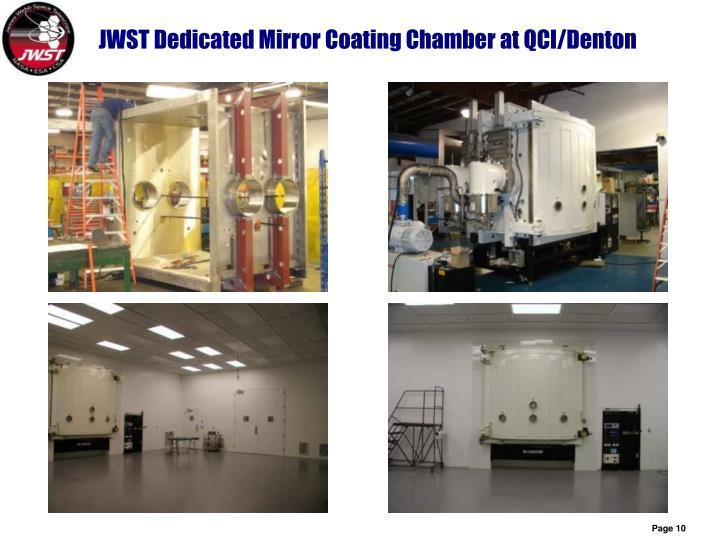 JWST Dedicated Mirror Coating Chamber at QCI/Denton