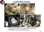 secondary mirror assembly