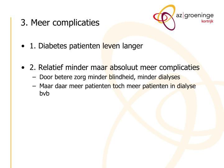 3. Meer complicaties