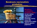 bendrasis nacionalinis produktas