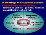 marketingo mikroaplink sudaro