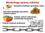 marketingo tyrim reik m