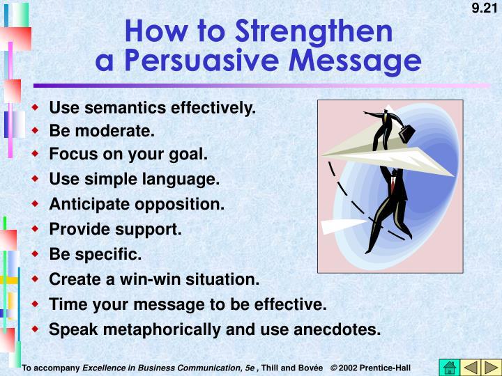 Use semantics effectively.