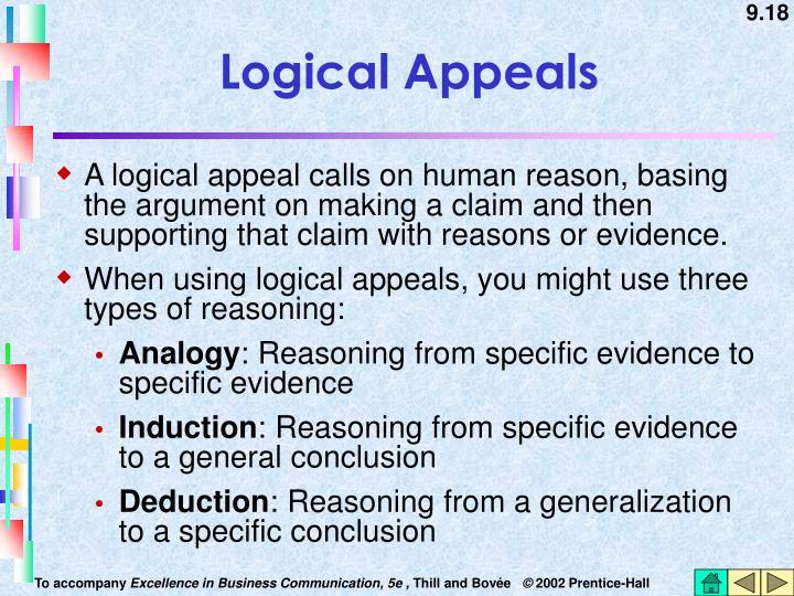 Logical Appeals