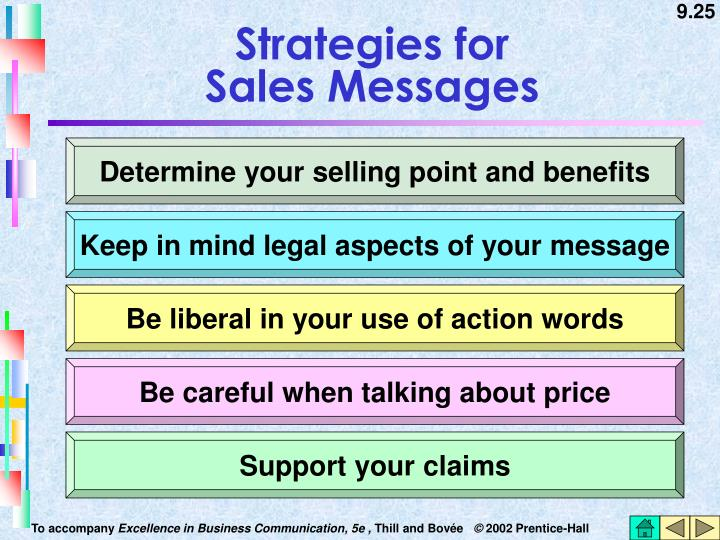 Strategies for