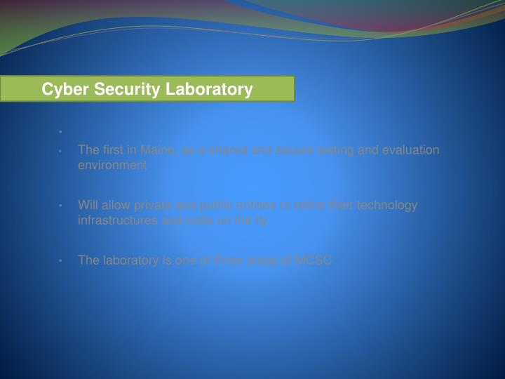 Cyber Security Laboratory