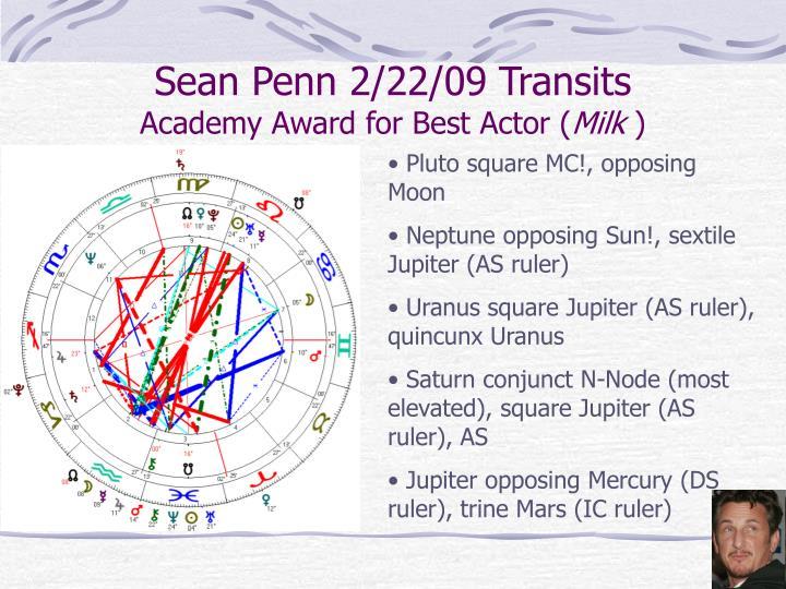 Sean Penn 2/22/09 Transits