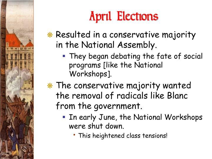 April Elections