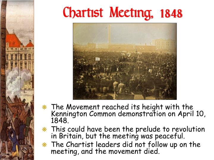 Chartist Meeting, 1848
