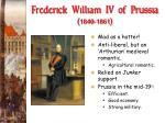 frederick william iv of prussia 1840 1861