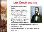 lajos kossuth 1802 1894