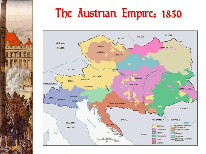 The Austrian Empire: 1830
