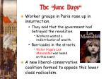 the june days