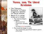 vienna 1848 the liberal revolution