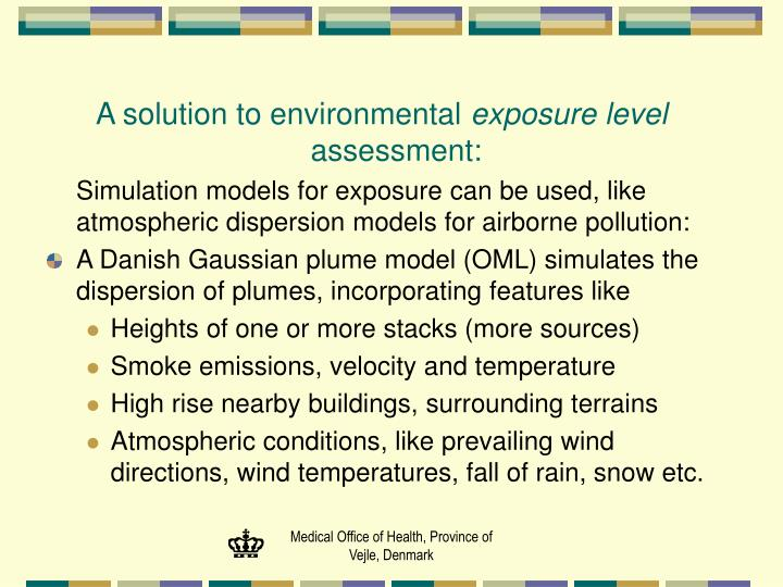 A solution to environmental