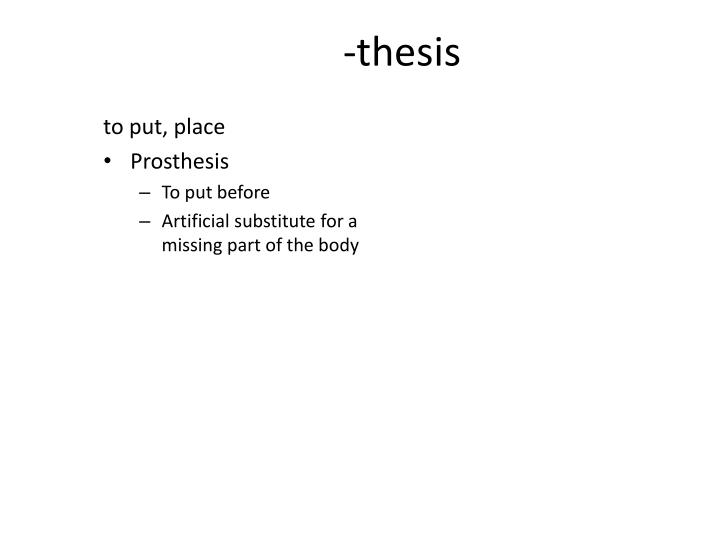 -thesis