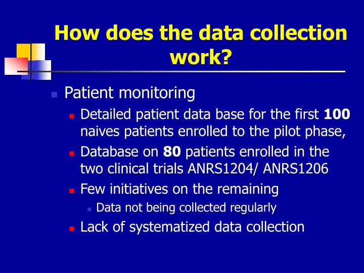 How does the data collection work?