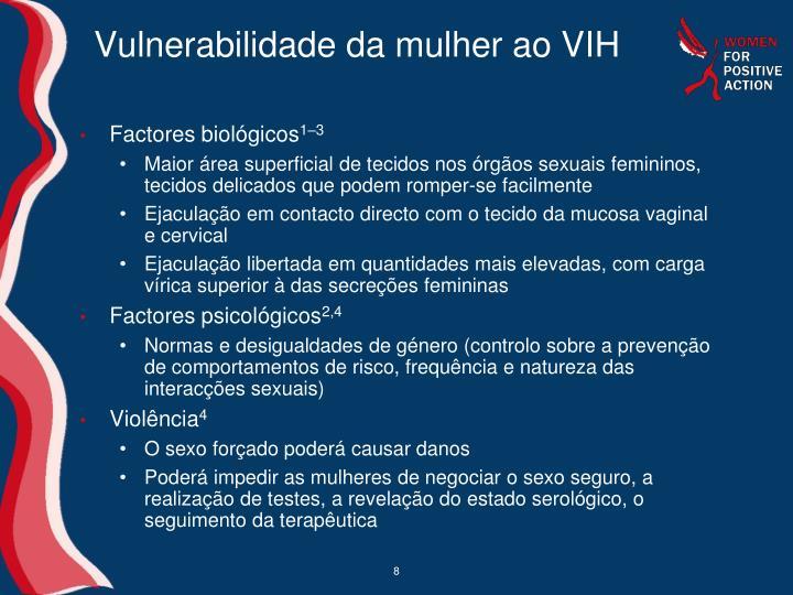Vulnerabilidade da mulher ao VIH