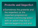 preterite and imperfect4