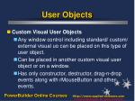 user objects3